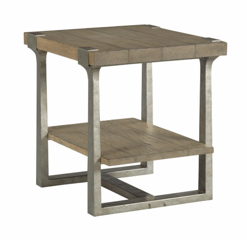 Timber Forge - Rectangular End Table