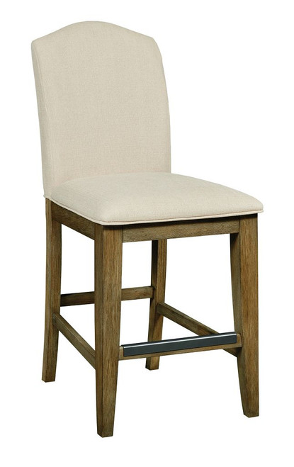 Nook Oak - Counter Height Parsons Chair, Brushed Oak