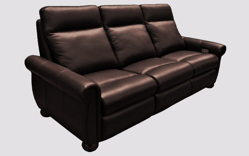 Power Solutions 508 Power Reclining 3-Seat Sofa