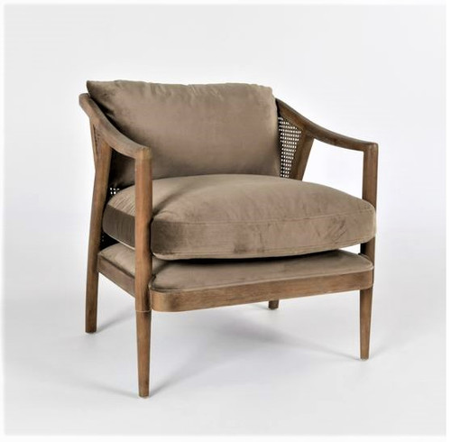Cody Accent Chair, Taupe