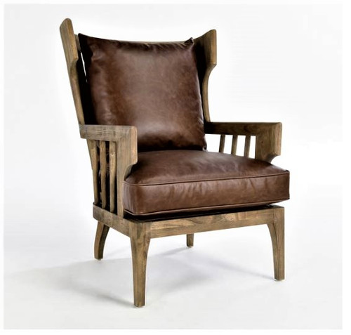 Lawrence Accent Chair, Havana Brown