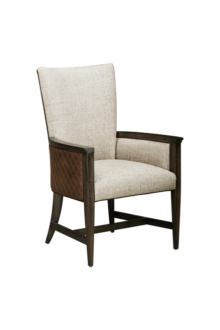 WoodWright - Racine Upholstered Arm Chair