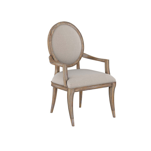 Architrave - Oval Arm Chair