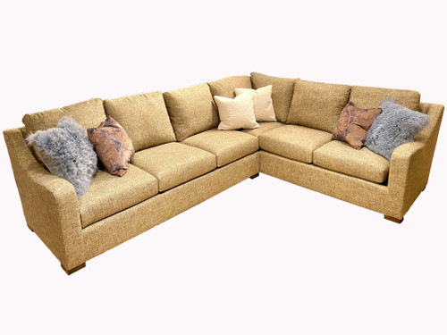 Blaire 2-Piece Sectional with 6 Toss Pillows