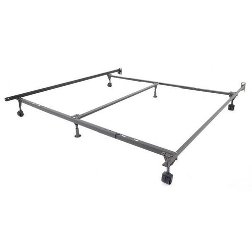 Queen/King/Cal King Frame with Rollers & Support