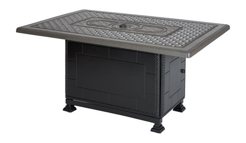 "Grand Terrace - 38"" x 56"" Casual Height Fire Pit"