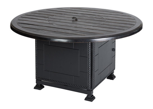 "Lattice - 53"" Round Casual Height Fire Pit"