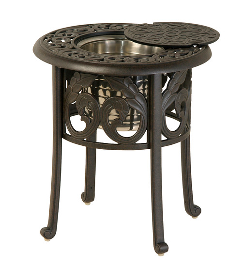 """Chateau - 20"""" Round Ice Bucket Table"""