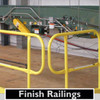FINISH RAILINGS FOR USE WITH SRC 360 MOBILE SAFETY RAILINGS