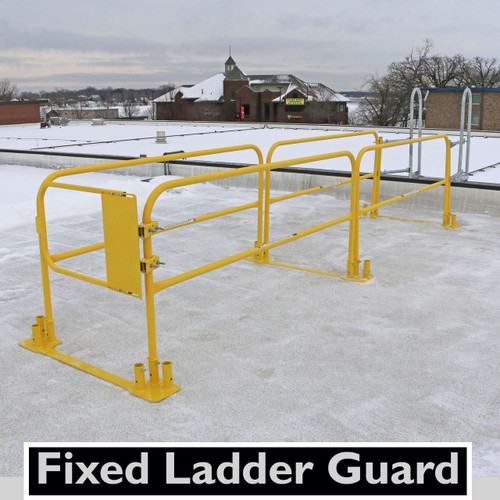 LadderGuard Lite 15 Fixed Ladder Guarding System