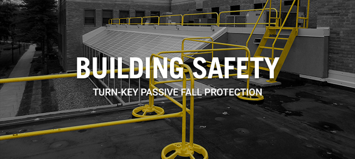 Safety Rail | Roof Railing | Portable Guardrail - Safety Rail Company