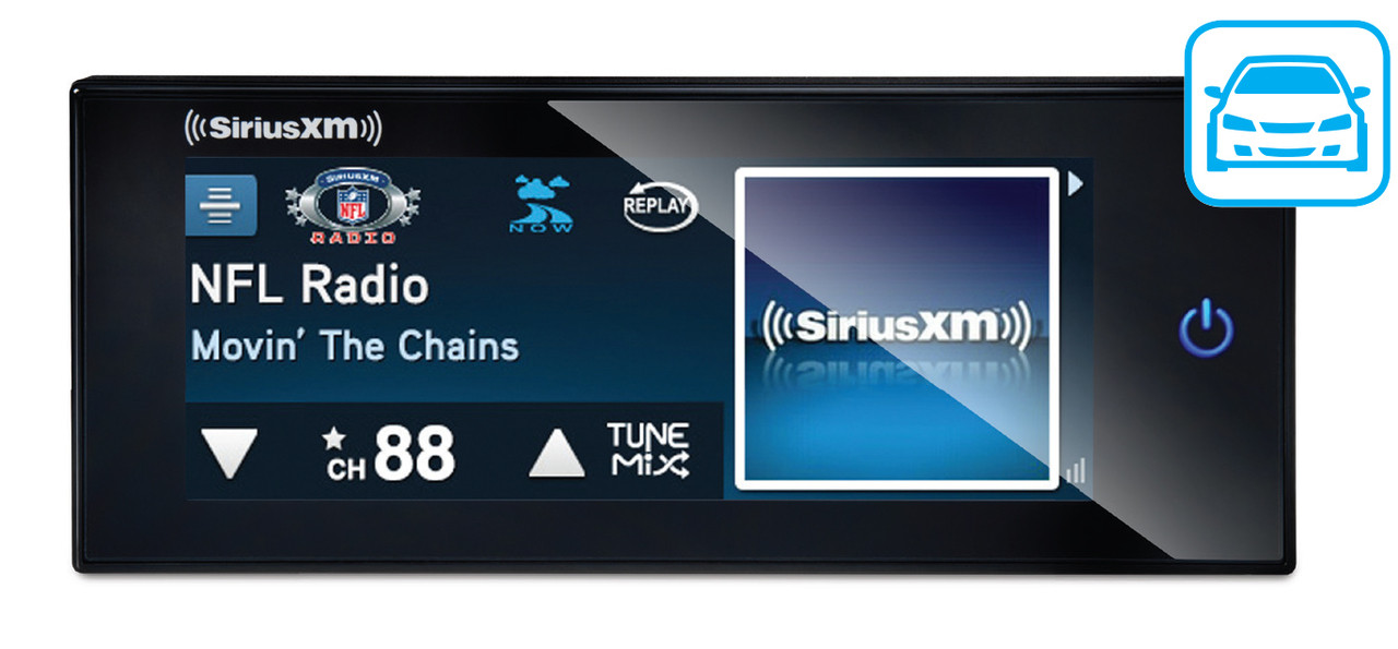 SiriusXM Commander Touch Full-Color Touchscreen Dash-Mounted Radio