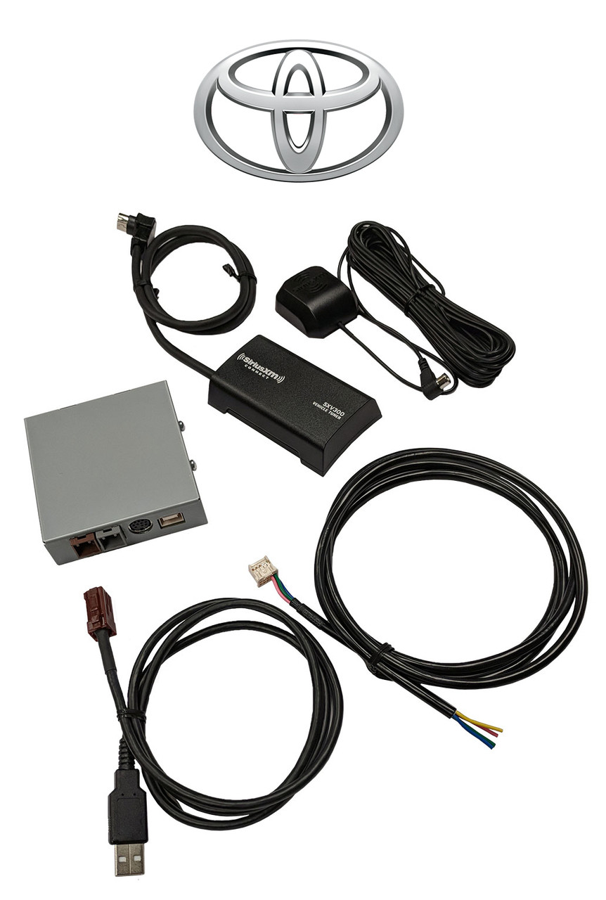 Toyota SiriusXM™ Radio Factory Module with SXV300 Receiver on