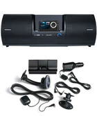 Onyx Plus Sirius XM Radio receiver with SXSD2 Portable Boombox and car kit