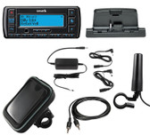 Sirius Satellite Radio Stratus 7 Motorcycle Bundle