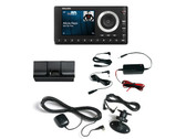 SiriusXM Radio Onyx Plus receiver with vehicle kit and hardwired power adapter
