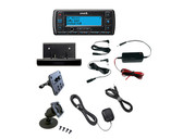 Sirius Stratus 7 receiver with vehicle kit and hardwired power adapter
