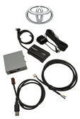 Toyota Sirius XM radio tuner and OEM Factory installed stereo kit