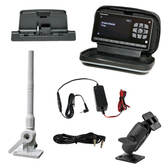 Sirius XM Radio Marine Kit with onyX EZR receiver mast antenna power adapter dock and mount