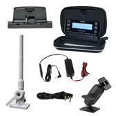 Satellite Radio Marine Installation Kit with Stratus 7 Receiver and TRAM Marine Grade Antenna
