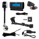 Sirius Stratus 7 Dock and Play Receiver with Truck Installation Kit