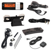 XM AGT Sportscaster receiver with vehicle kit
