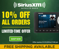 10% Off ALL SiriusXM™ Orders!