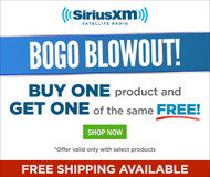 SiriusXM™ BOGO Blowout!