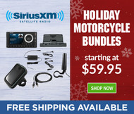 SiriusXM™ Motorcycle Holiday Bundles Are Here!