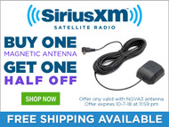 Buy One NGVA3 Car Antenna and Get One Half Off!