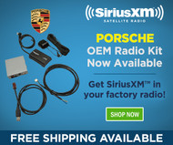 Get SiriusXM™ Built Into Your Porsche
