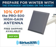 Save 10% on the Most Powerful SiriusXM™ Antenna