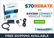 Get $70 Back On SiriusXM™ SXV300 Vehicle Tuner