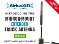 NEW PRODUCT: The Extended Mirror-Mount Truck Antenna
