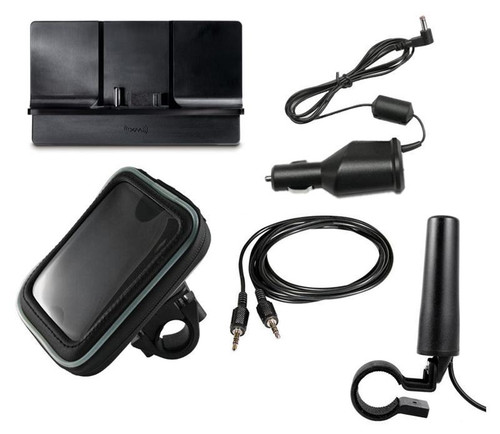 SiriusXM Satellite Radio Universal Motorcycle Kit for 5 Volt PowerConnect Receivers and some older 5v sirius and xm receivers
