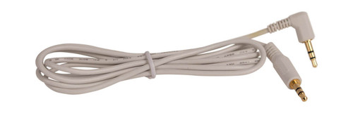 SiriusXM AUX cable, white audio cable