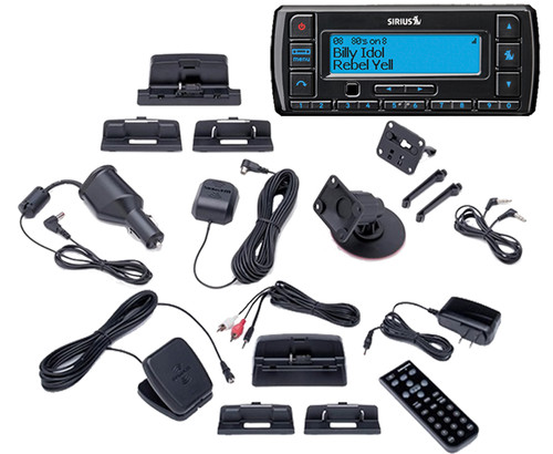 Sirius Stratus 7 Receiver with Car Kit and Home Kit
