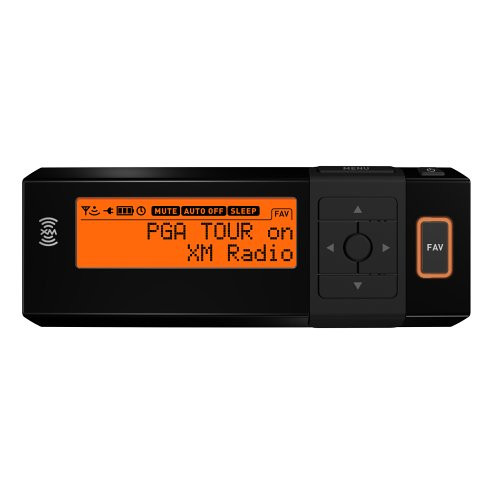 AGT Sportscaster XM Satellite Radio Portable Receiver