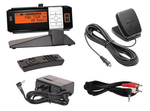 XM Radio AGT Sportscaster receiver with home kit