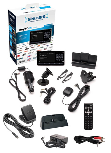 OnyX EZR Satellite Radio Dock and Play Receiver with Vehicle and Home Kit