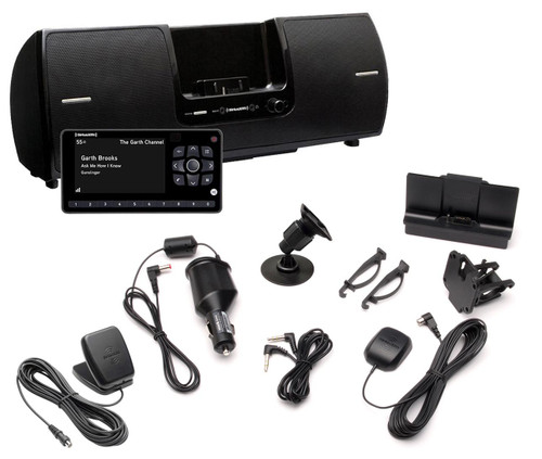 OnyX EZR Receiver with Vehicle Kit and Speaker Dock