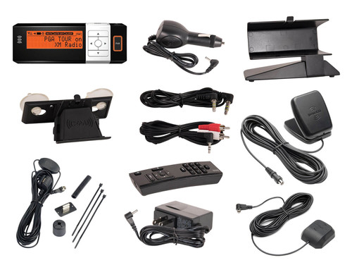 AGT XM Radio Receiver with Car and Home Kit