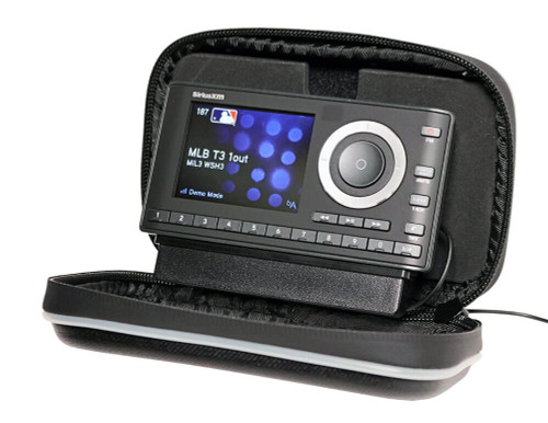 OnyX Plus SiriusXM Radio receiver with protective case and motorcycle mounting kit