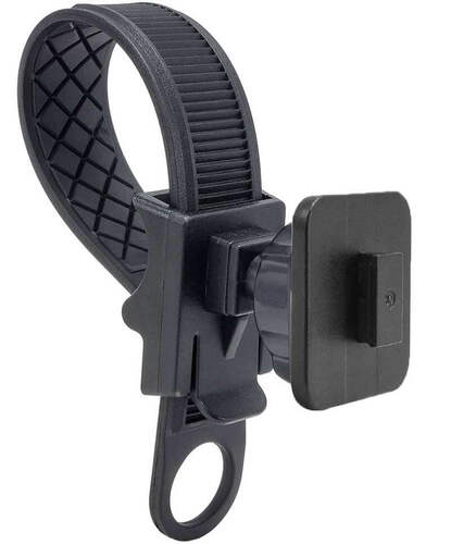 Handlebar strap mount with single T notch adapter