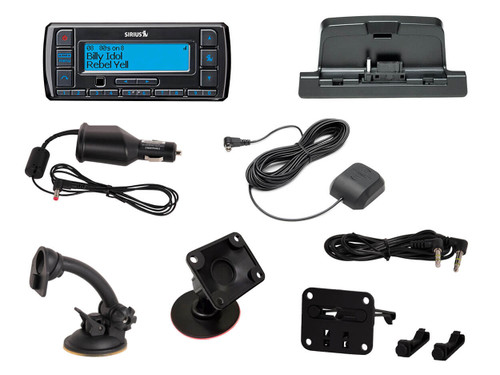 Sirius Stratus 7 receiver with PowerConnect vehicle kit