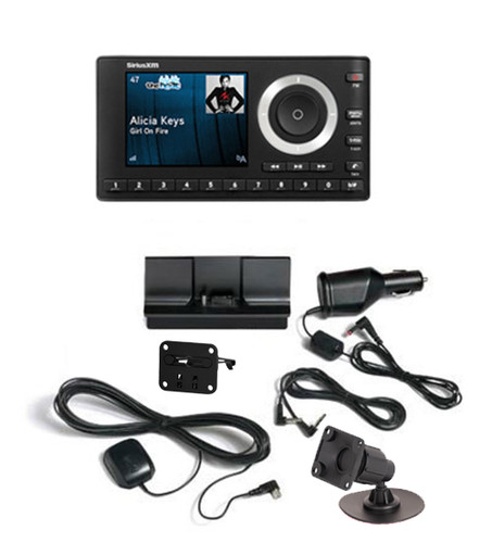 SiriusXM Radio OnyX Plus Receiver with Vehicle Kit