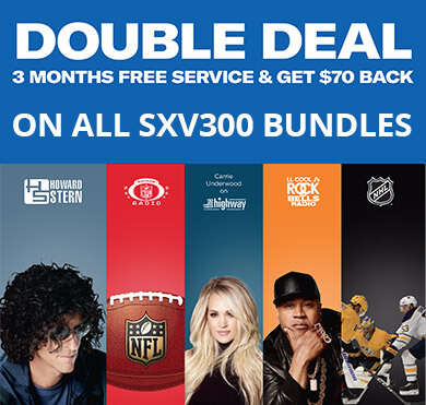 SiriusXM Radio Double Deal