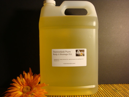 Unscented Body & Massage Oil 128oz/1 Gallon Jug - Free Shipping!