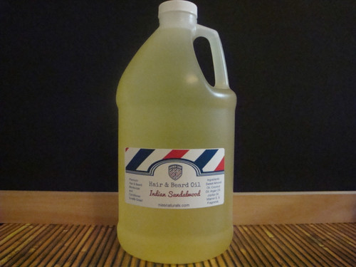 Premium Hair & Beard Oils 64oz ( Half Gallon) Jug U PICK