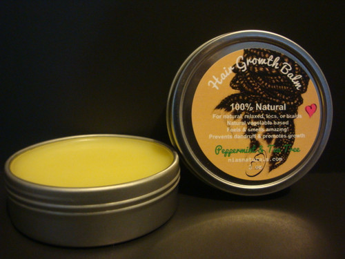 Wonderful Hair Growth Balm Vegetable Based 2oz Tin - Essential Scents